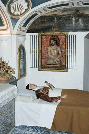 Saint Terese of Avila's bed
