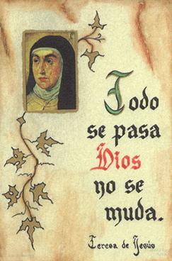 Portrait of St Teresa of Avila