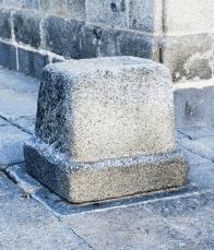The stone that St. Teresa sat on