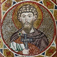 Mosaic of St Theodore