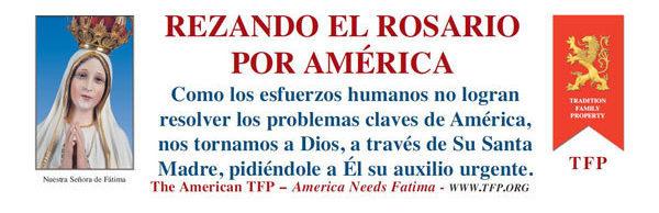 Praying the Rosary for America - Spanish