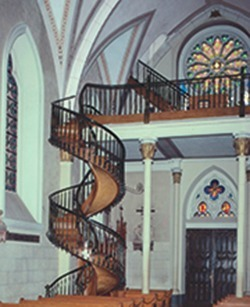 Miraculous Stairs built by St Joseph