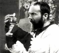 Padre Pio celebrating the Holy Sacrifice of the Mass