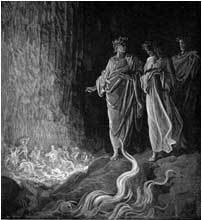 Vision of Purgatory by Gustave Dore