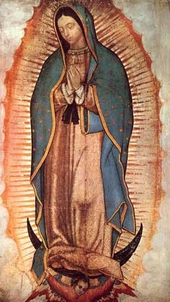 Image: The Miraculous Image of Our Lady of Guadalupe