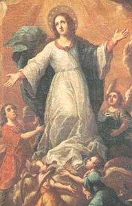 Our Lady with Angels