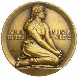 Medal of St Joan of Arc