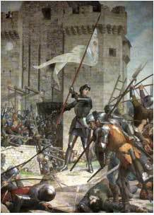 St Joan at the Siege of Orleans