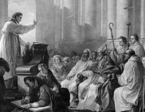Image: St. Augustine teaching