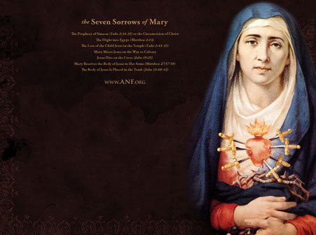 ANF - Seven Sorrows of Our Lady