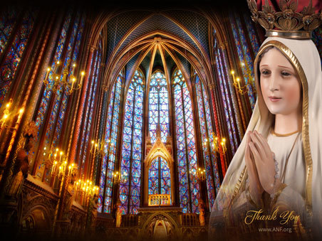 ANF - Saint Chapelle with Our Lady