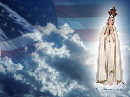 ANF - US Flag and Our Lady of Fatima