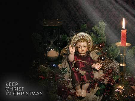Keep Christ in Christmas - Prince of Peace Wallpaper