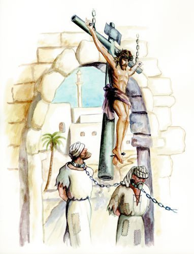Crucified on a Cross