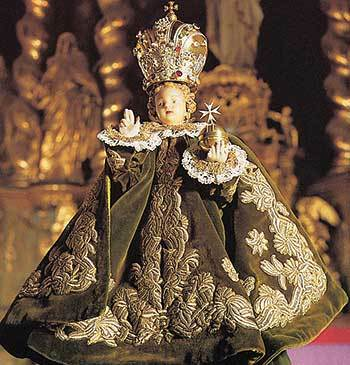 Statue of the Infant of Prague