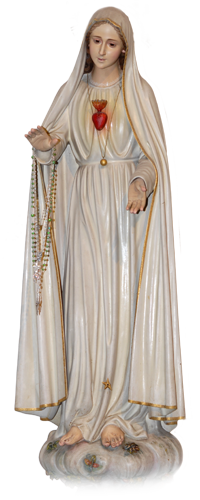 Image: Statue of Our Lady of Fatima