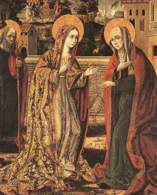 Painting of the Visitation