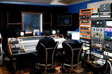Brian Charles and John Andaloro at Zippah Studios in Boston
