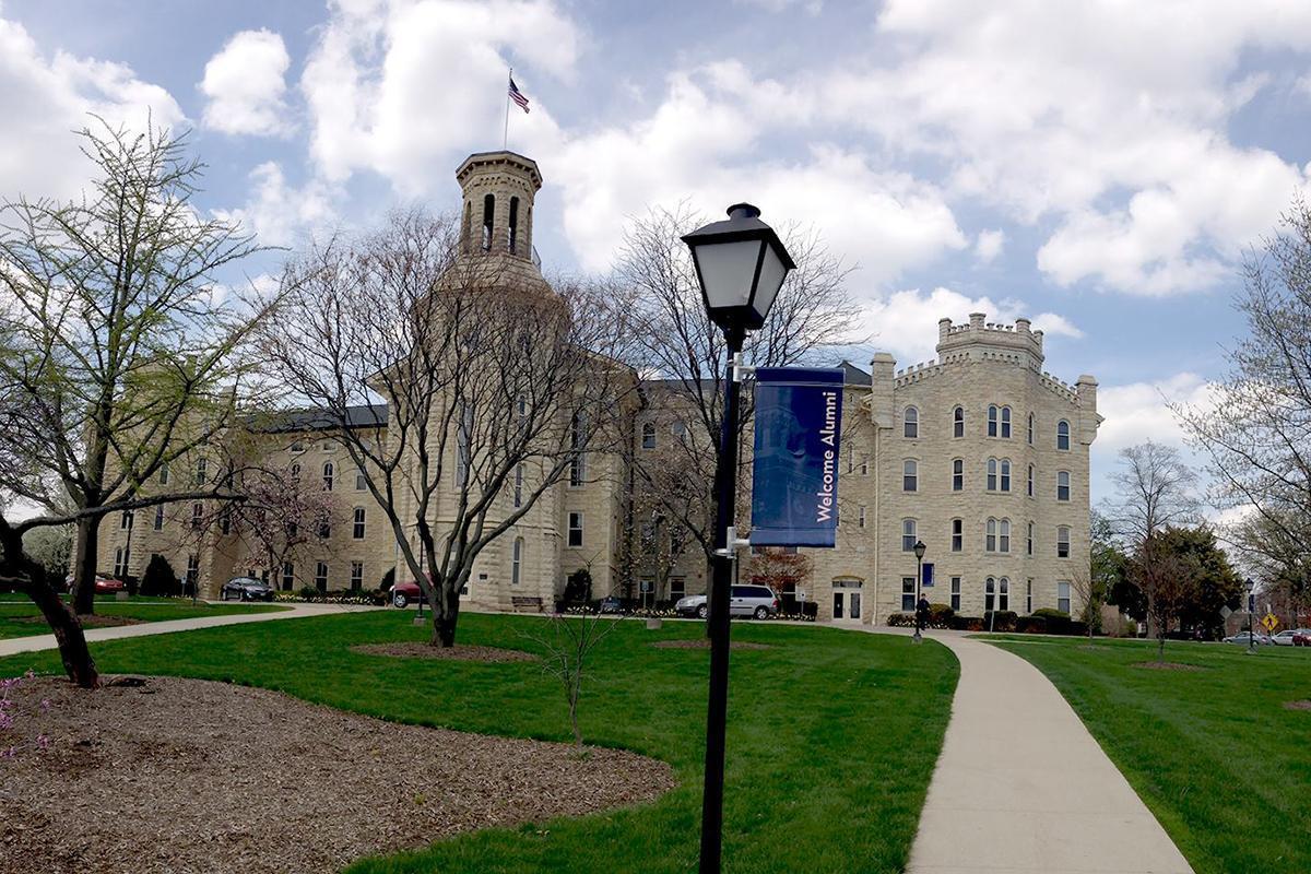 The Wheaton College campus in Illinois