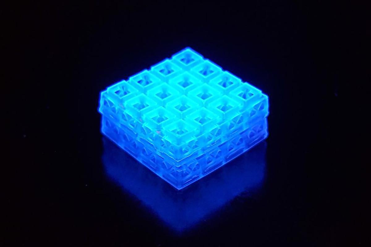 A 3D printed brick to repair bone and tissue