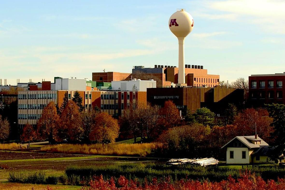 The University of Minnesota campus