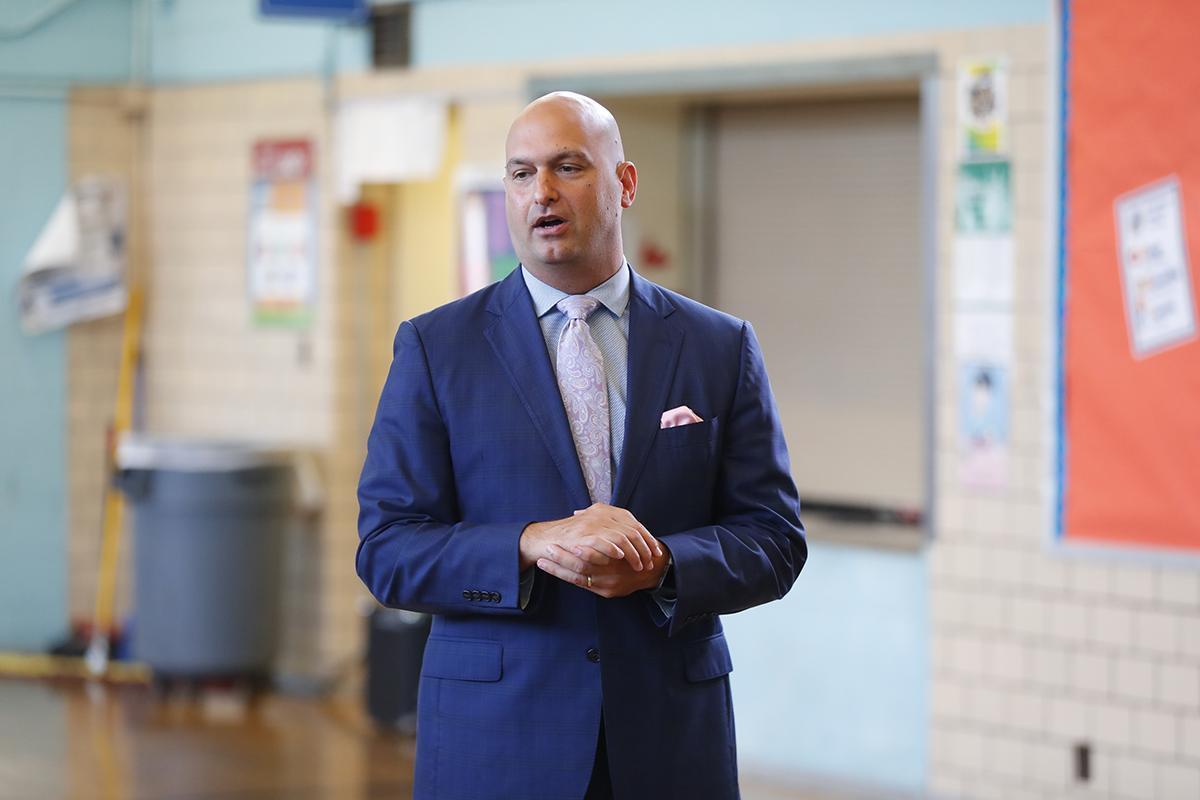 Detroit Public Schools Community District Superintendent Nikolai Vitti