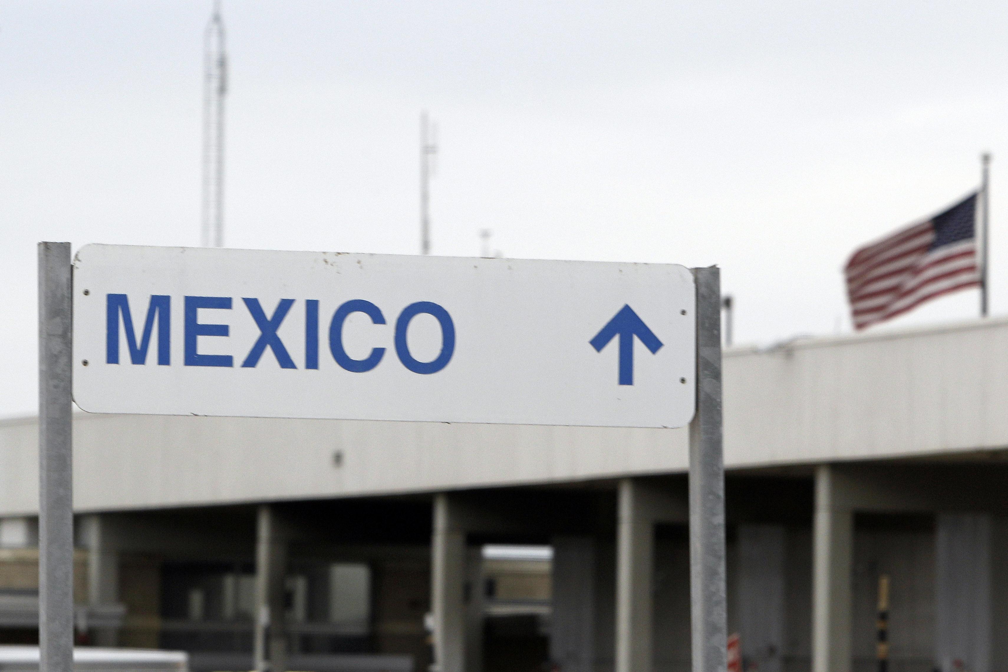 Pharr International Bridge crossing into Reynosa, Mexico