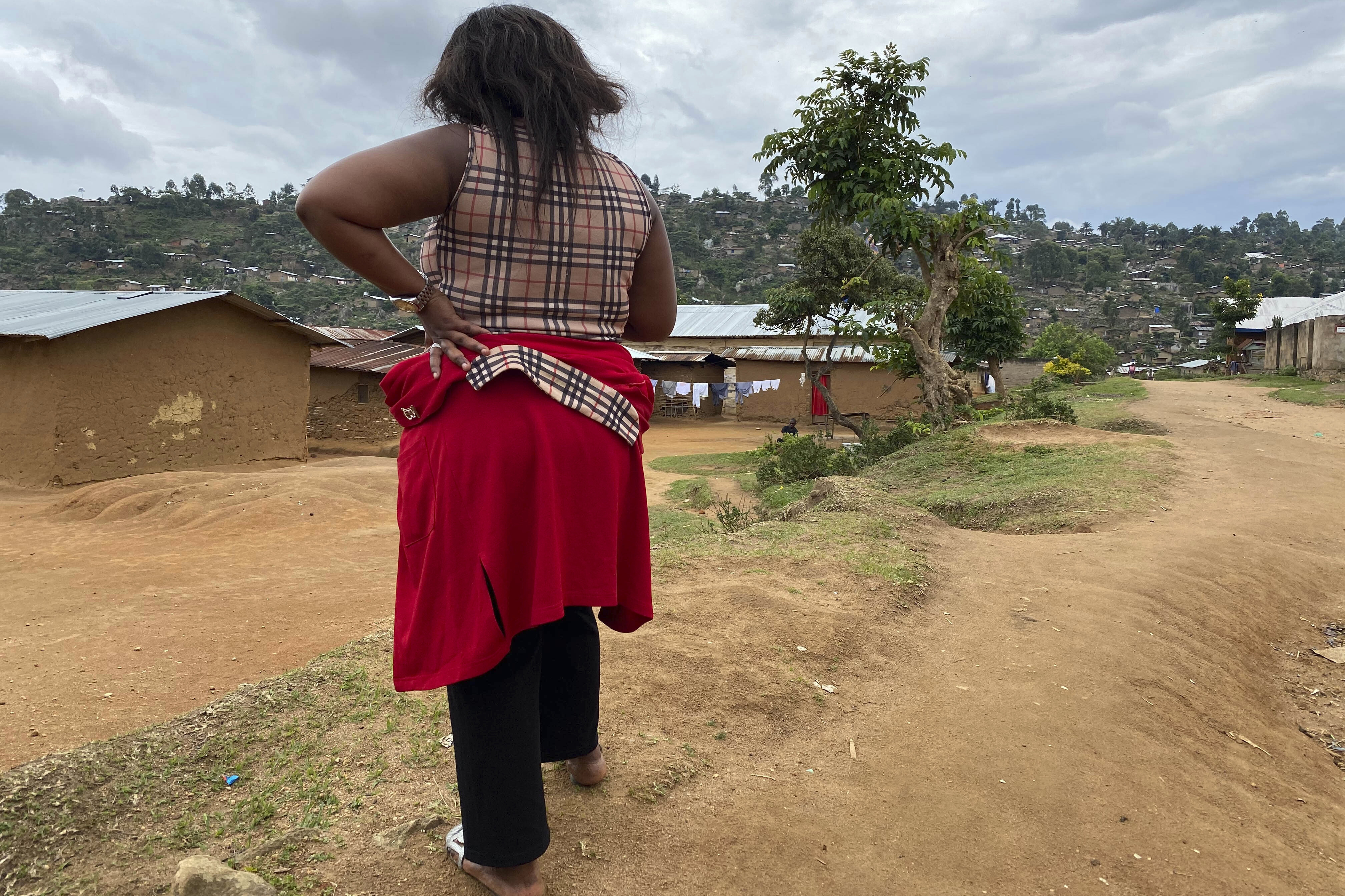 A woman who accused a WHO worker of sexual abuse near her home in Beni, eastern Congo