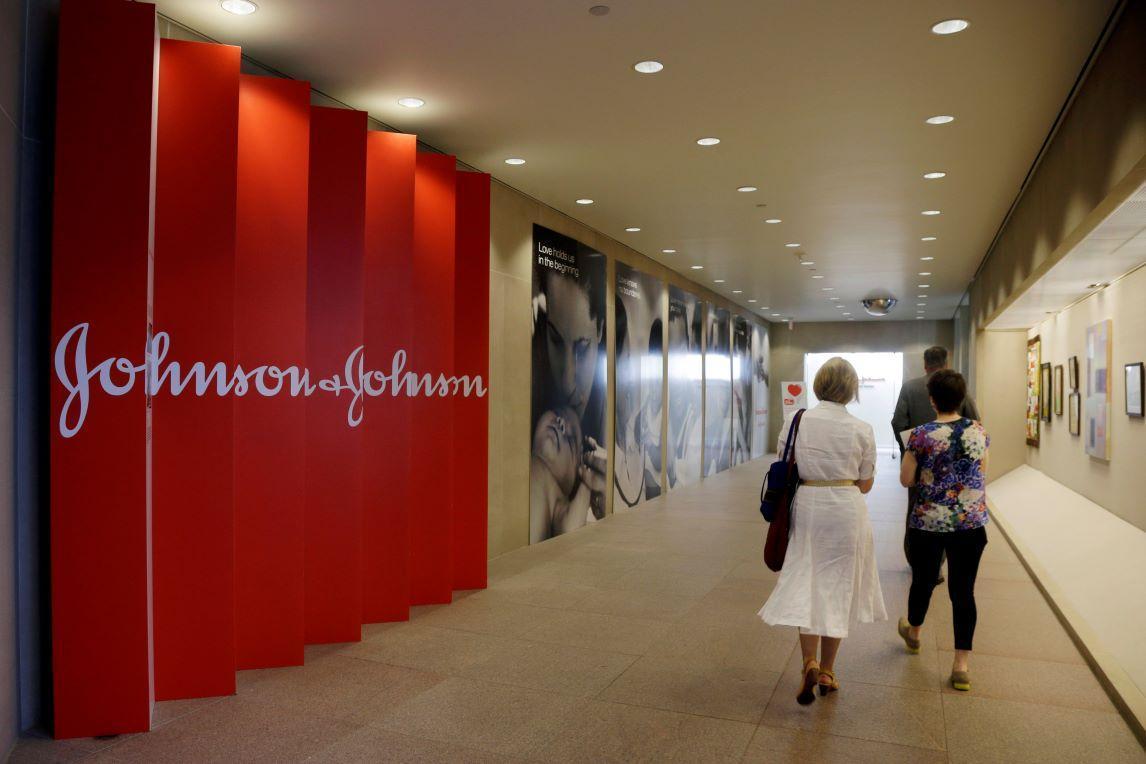 The headquarters of Johnson & Johnson in New Brunswick, N.J.
