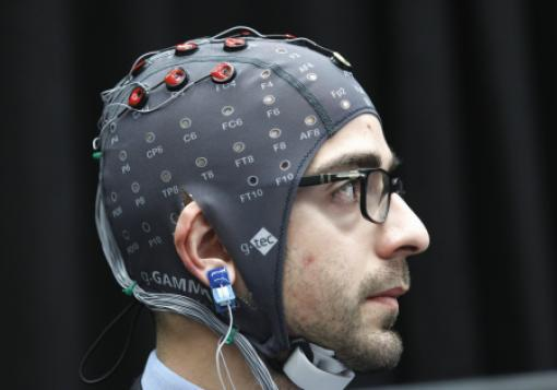 An early brain-computer interface demonstration in 2011