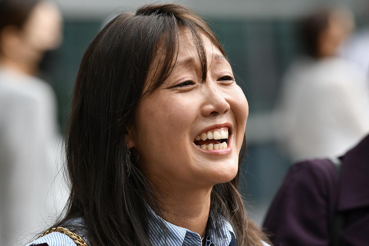 Kara Bos in Seoul last week