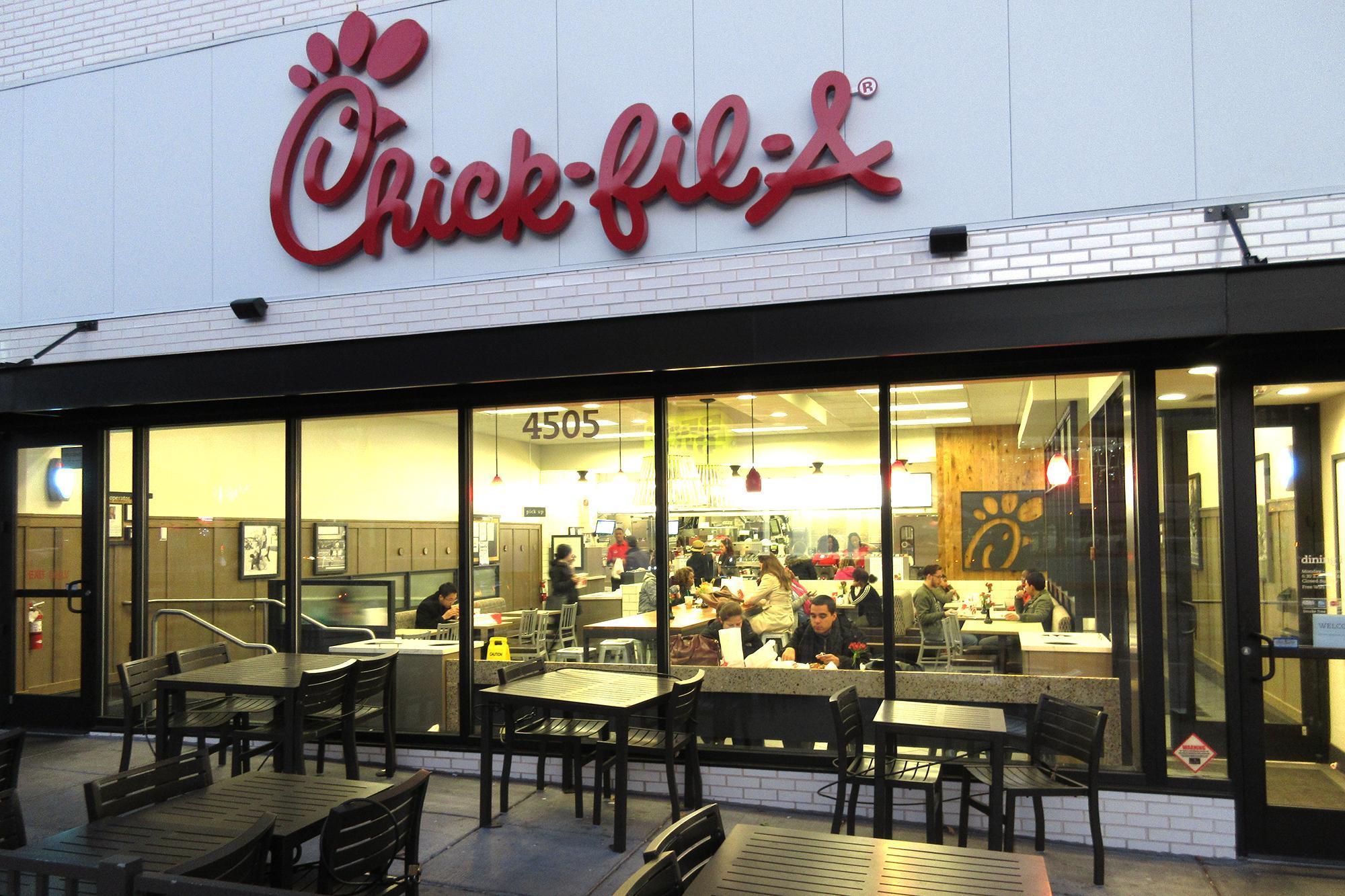 A Chick-fil-A restaurant in Washington, D.C.