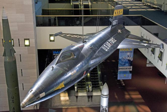 A North American X-15 on display in the National Air and Space Museum. The Smithsonian is one of several institutions offering virtual field trips to students during the coronavirus shutdown.