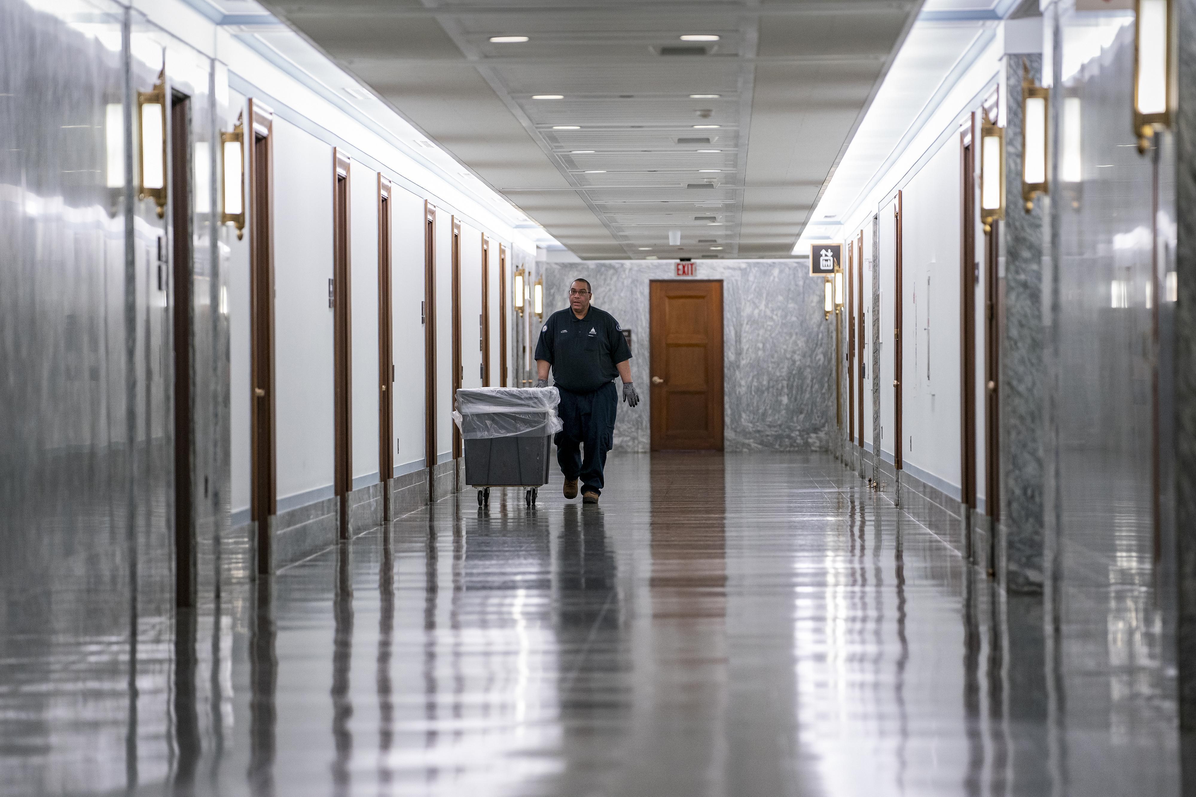 Sen. Richard Burr on Capitol Hill