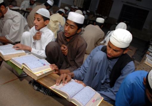 A religious school in Bahawalpur, Pakistan