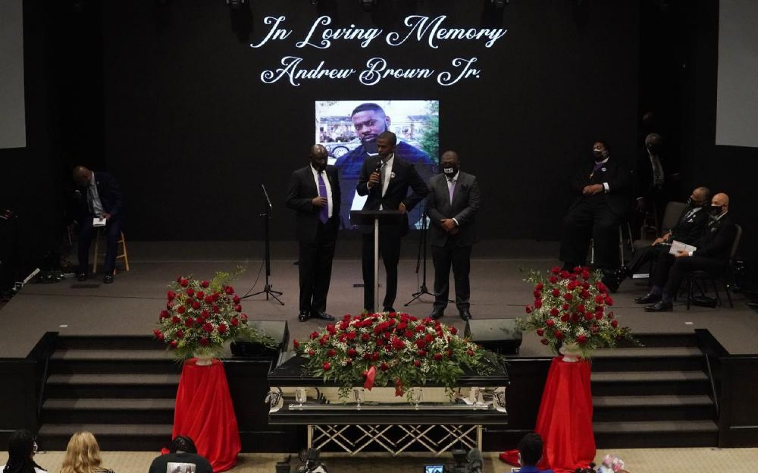 Funeral service held for Andrew Brown