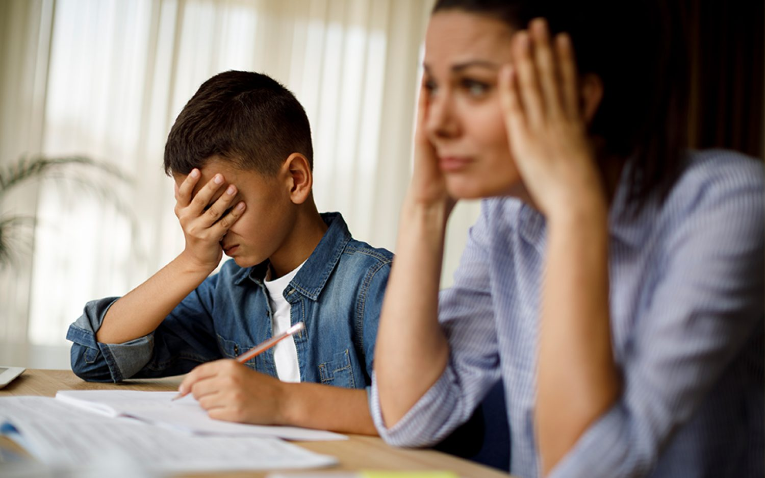 How to handle setbacks and hard days while homeschooling