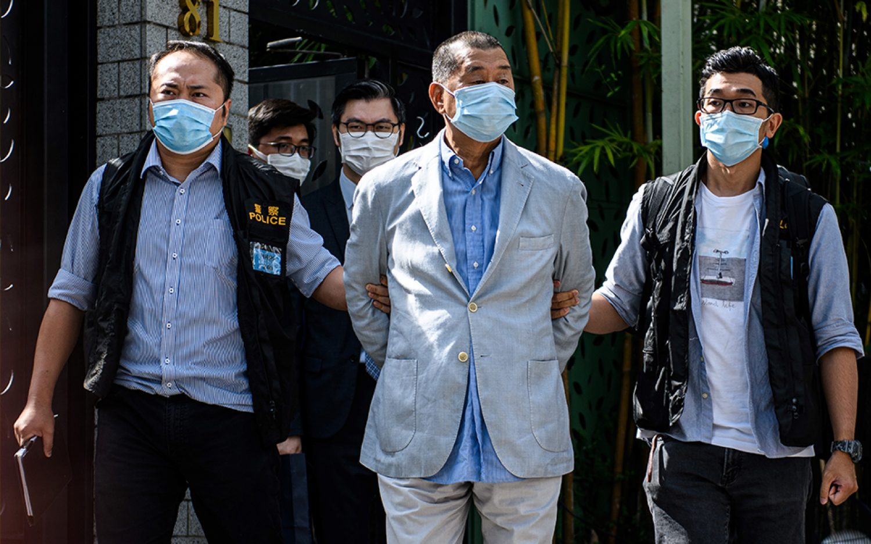Hong Kong pro-democracy media tycoon arrested