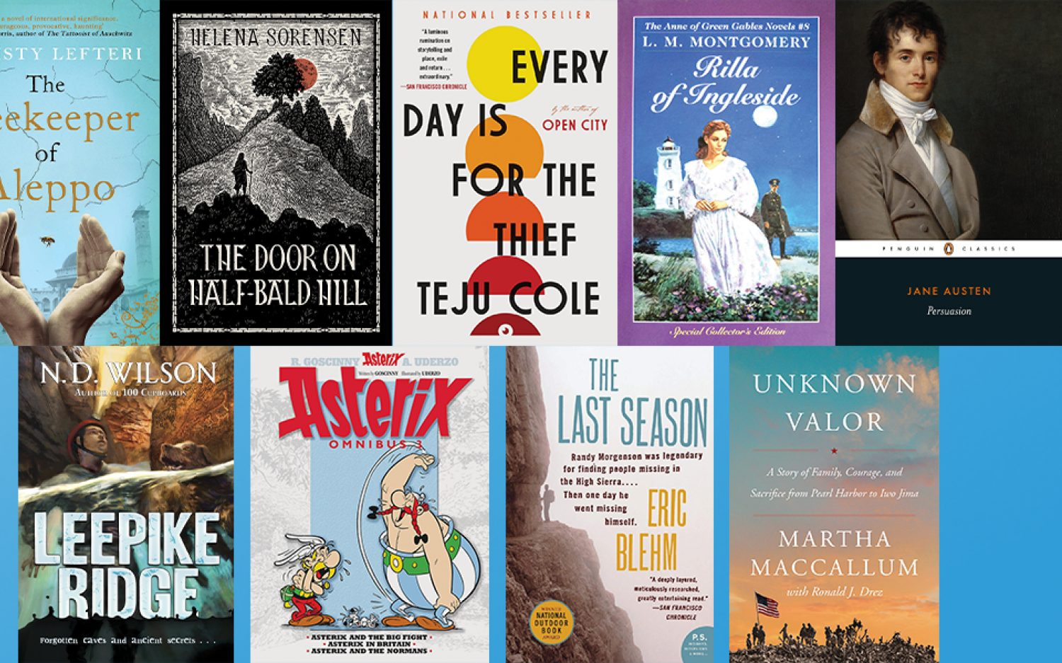 Nine reads we recommend this summer