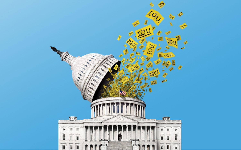 Federal revenues up, federal spending up, federal debt up