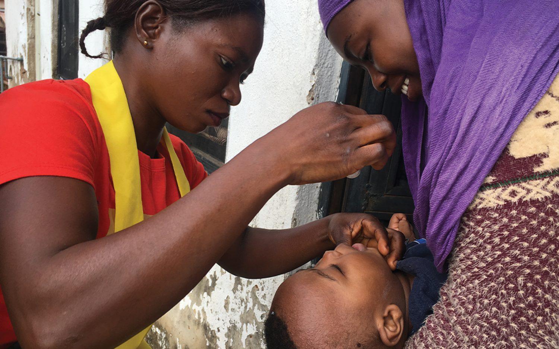 A day in a polio campaign