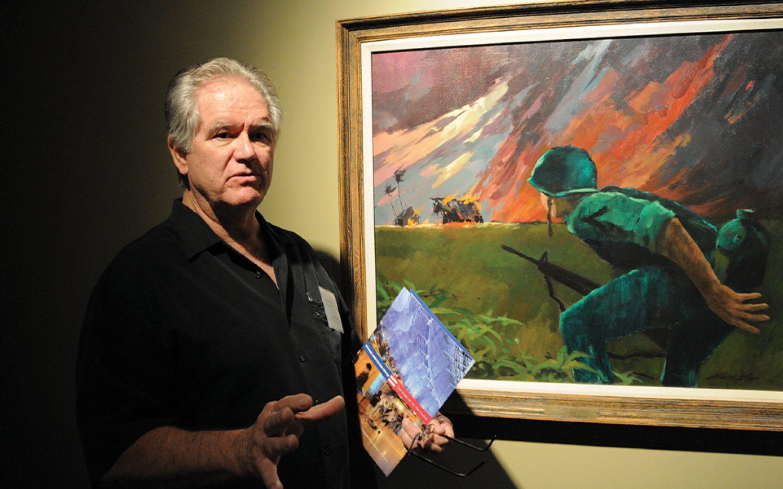 Portrait of a Christian artist