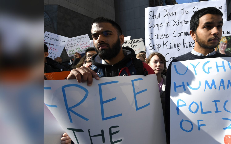 Uighur rights campaign