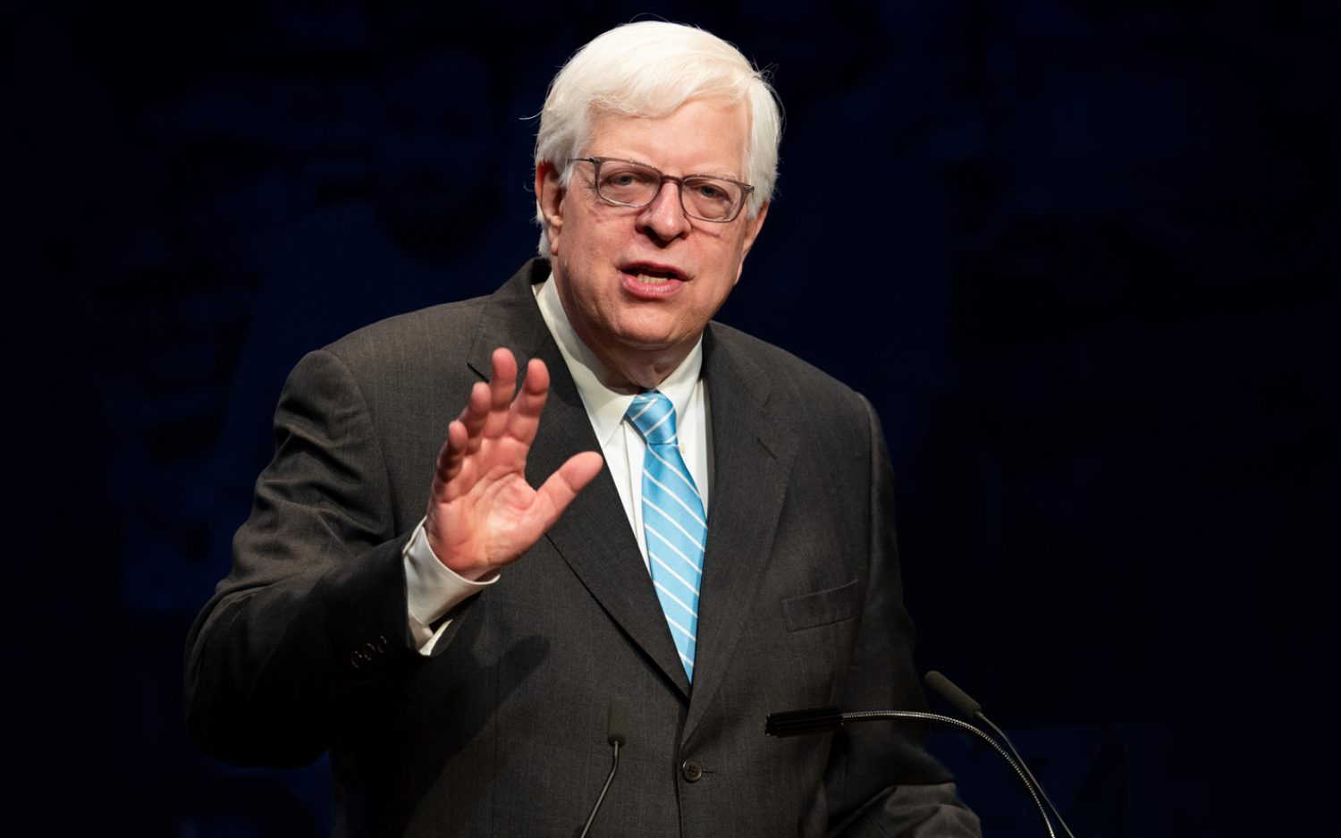 An evening with Dennis Prager