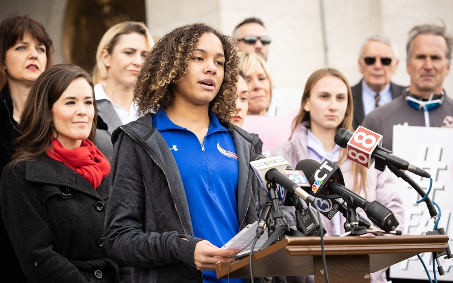 Positive signs in the fight for fairness in women's sports