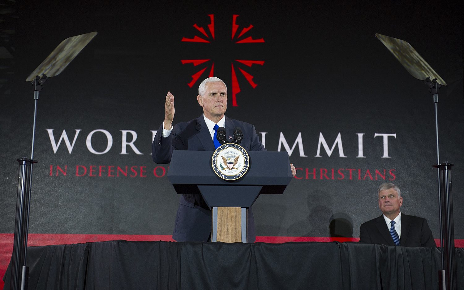Pence: U.S. will not ignore persecuted Christians