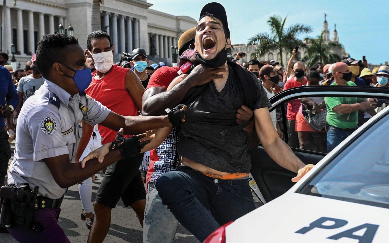 Cuba's rising cry