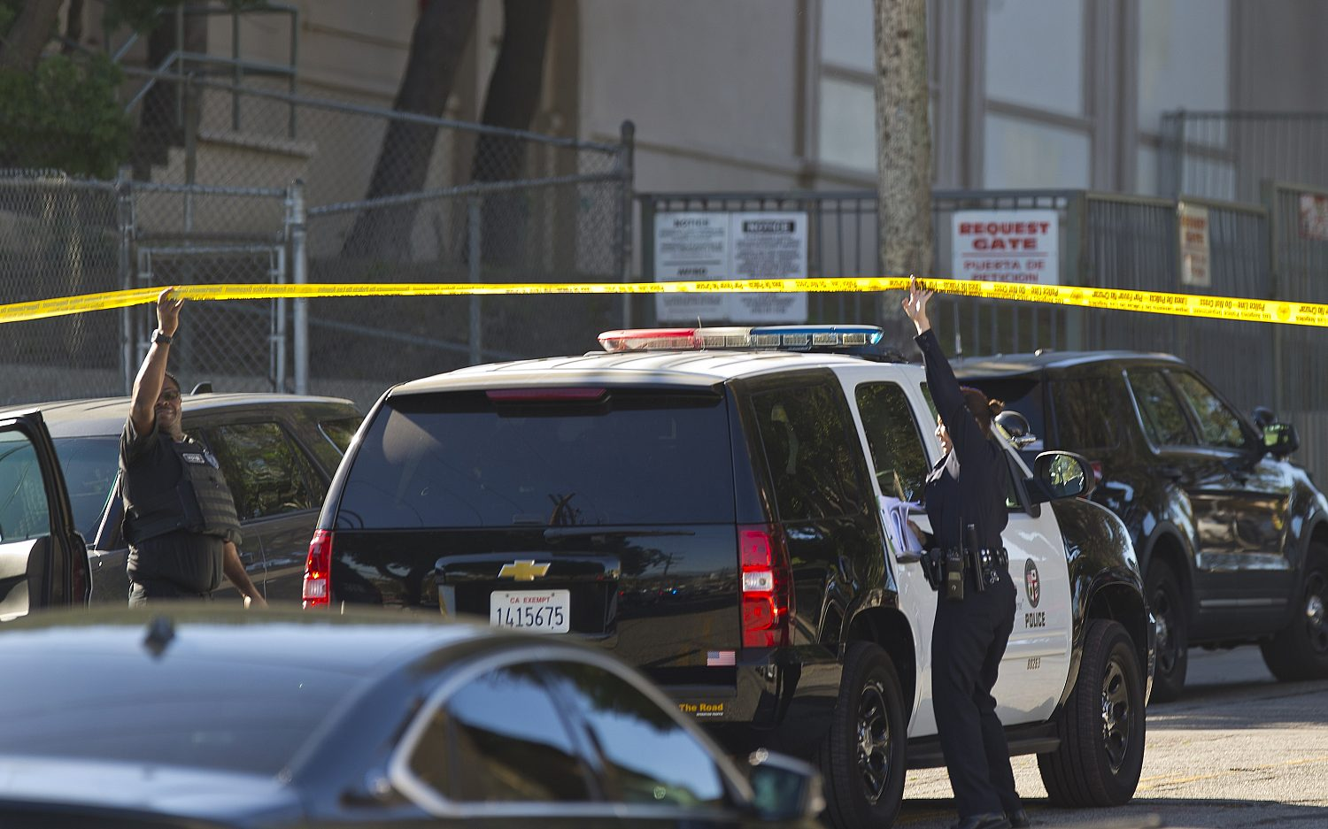 Female student arrested in LA middle school shooting