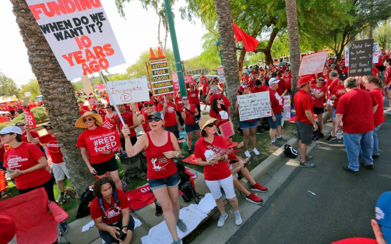 Arizona teacher walkout stretches to third day