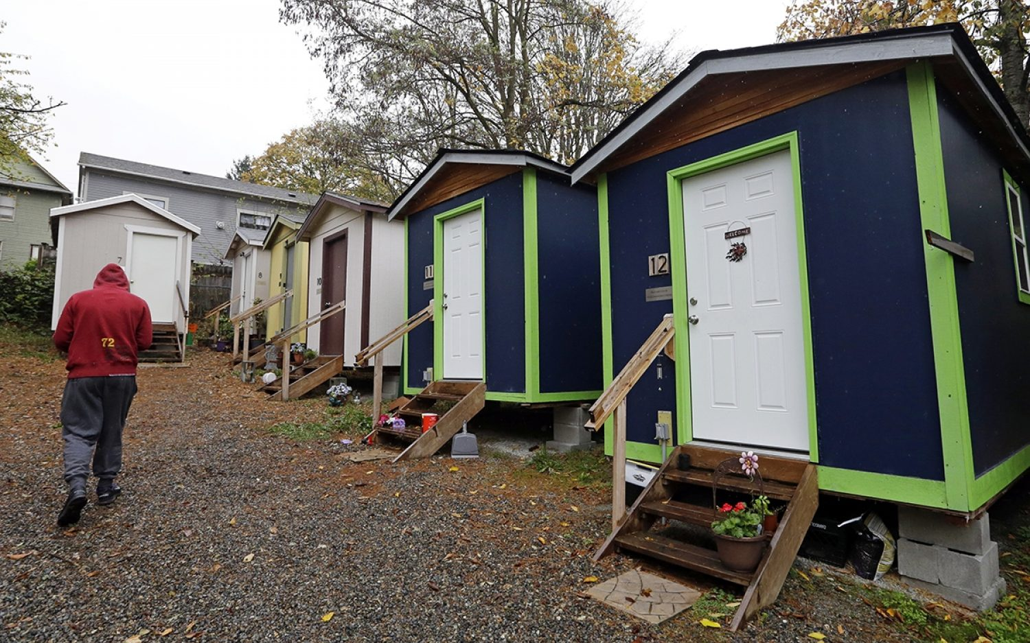Homeless housing in a hurry